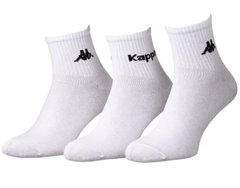 Носки Kappa 3-pack white — 93151901-1, 39-42, 3349600164857