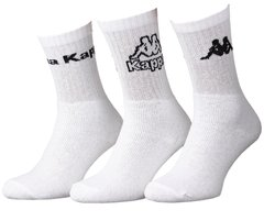Носки Kappa 3-pack white — 93520545-2, 39-42, 3349060197419