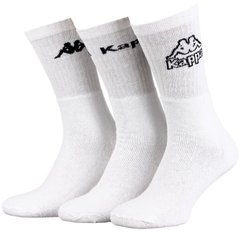Носки Kappa 3-pack white — 93027855-2, 39-42, 3349060193879