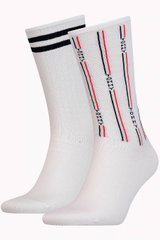 Носки Tommy Hilfiger Socks Denim The Ace 2-pack white — 481001001-300, 39-42, 8718824567921