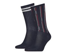 Носки Tommy Hilfiger Socks Denim The Ace 2-pack navy blue — 481001001-322, 39-42, 8718824567952