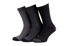 Носки Tracto 3-pack gray/black— 93520243-1, 39-42, 3349600159396